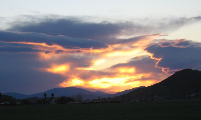 Sunrise, Homeland, CA, 1 Feb 2005
