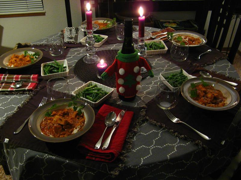Tuesday night dinner