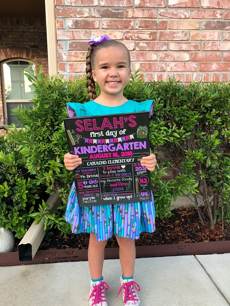 Selah | Kindergarten | Camacho Elementary School