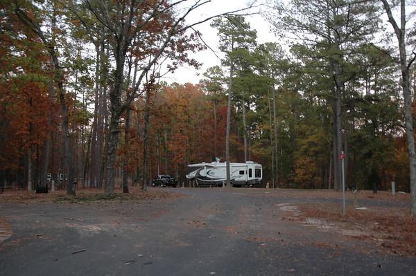 Journal Site 50: Lake Ouachita State Park, Mountain Pine, Arkansas  -  November 8, 2006