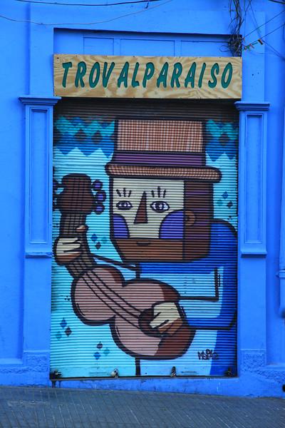 Uliczki Valparaiso
