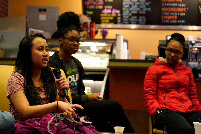 Gardner-Webb hosts a Diversity Education Wed. Feb. 20 on the bottom floor of Tucker Student Center to talk about Black History Month and diversity on and off campus.