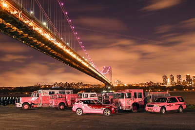 2017 Cancer Awareness Month Emergency Services fighting for a cure