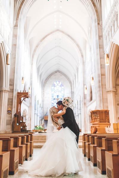 Paige & Audie Catholic Ceremony