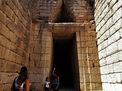 Ancient Mycenae the Treasure of Atreus