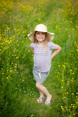 E with buttercups