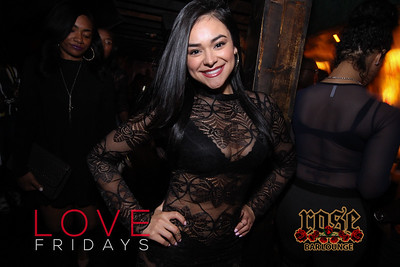 LOVE Fridays at Rose Bar March 2016