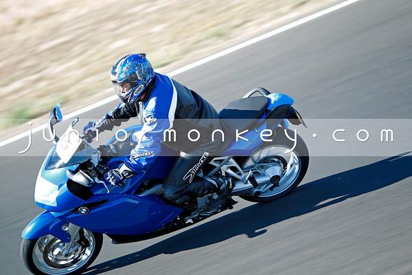 #15 - Blue BMW