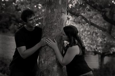 Jacob and Clairissa Engagement Portraits