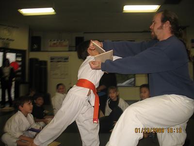 1-23-2009 Board Breaking