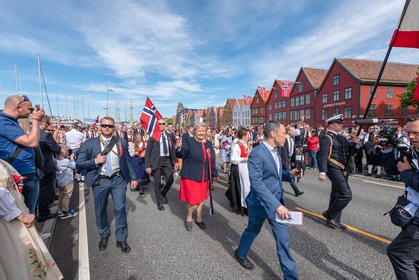Norway, Bergen, National Day 17. mai 2019.