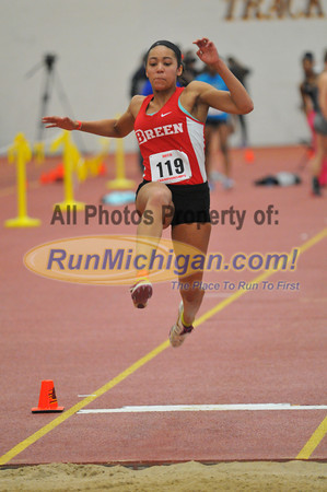 Girls' Long Jump - 2014 MITS State Meet