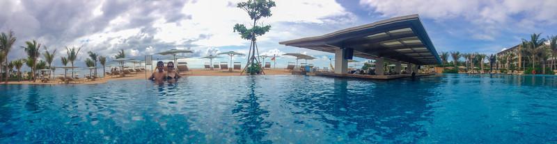 The Sky Pool @ Mulia Bali