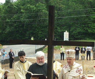 Blessing of the Foundation of the new Epiphany of Our Lord Byzantine Catholic Church