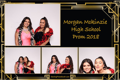 Morgan Mckinzie High School Prom 2018