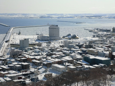 drift ice in Wakkanai 2012