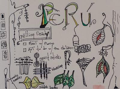 Peru Art by Kate