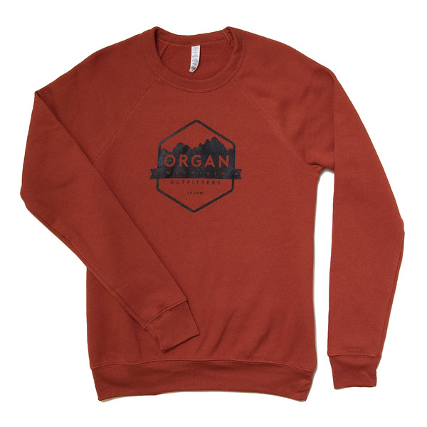 Organ Mountain Outfitters - Outdoor Apparel - Outerwear - Classic Fleece Crewneck Sweatshirt - Brick.jpg