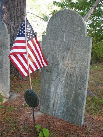 Nathaniel Hutchins Grave
