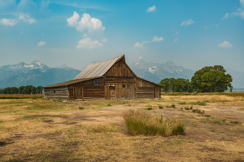 Moulton Barn & Transfiguration Church, Wyoming