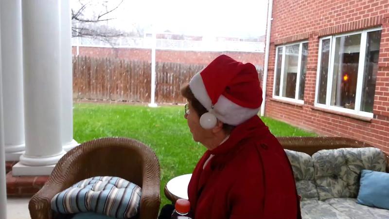 Carol Jackson Christmas Eve Snow 122412.mp4