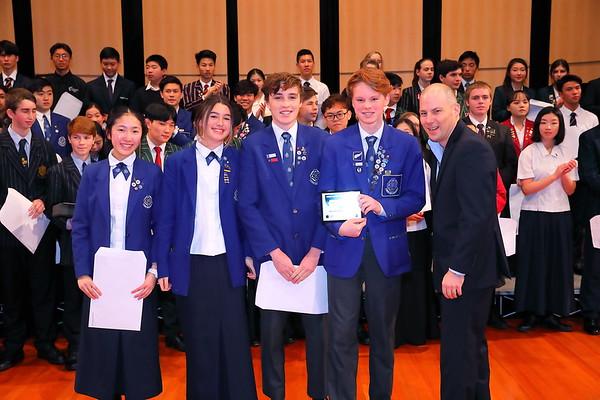 Afternoon Gala Concert  Award Presentation