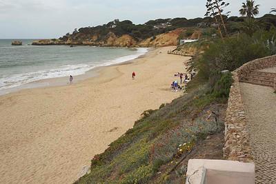 Praia da Santa Eulalia and Praia da Balaia [Leste]