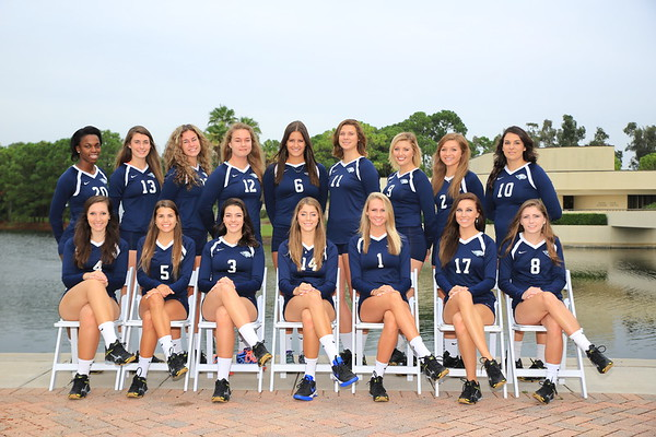 Keiser University 2015 Volleyball Team
