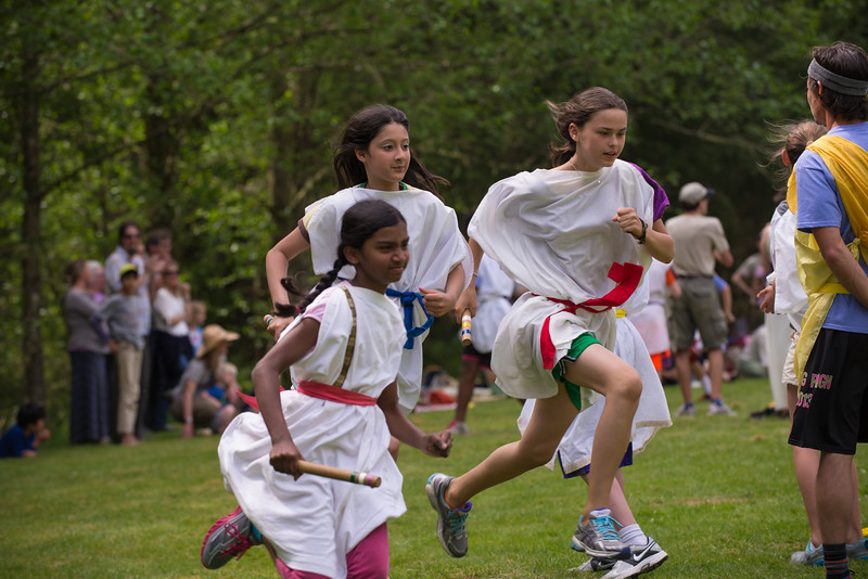 fifth grade olympiad - the relay