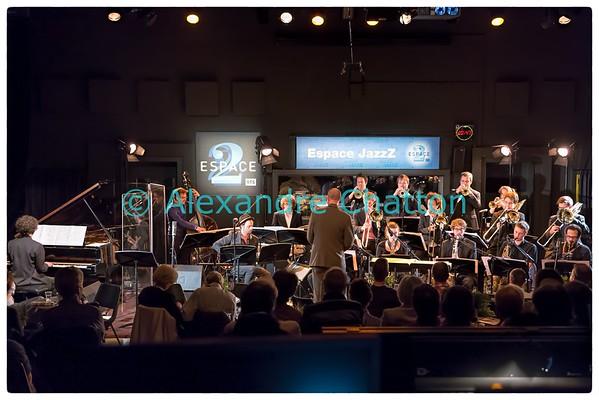 Le big band de la Haute Ecole de Lucerne en concert