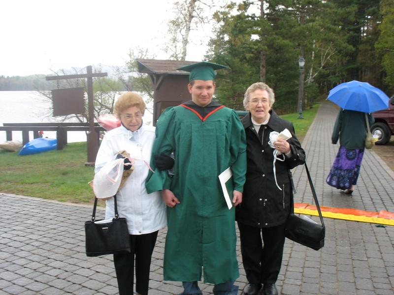June Labarge, Dean & Norma Brockway (May 14, 2006).jpg