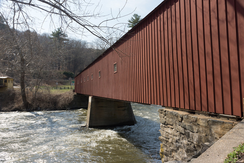 Covered Bridge at West Cornwall, CT