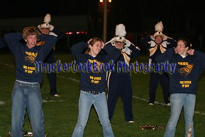 2007 Senior Night, Blue Pride Marching Band