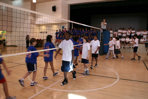 Sixth Grade Volleyball Tournament 11-20-08