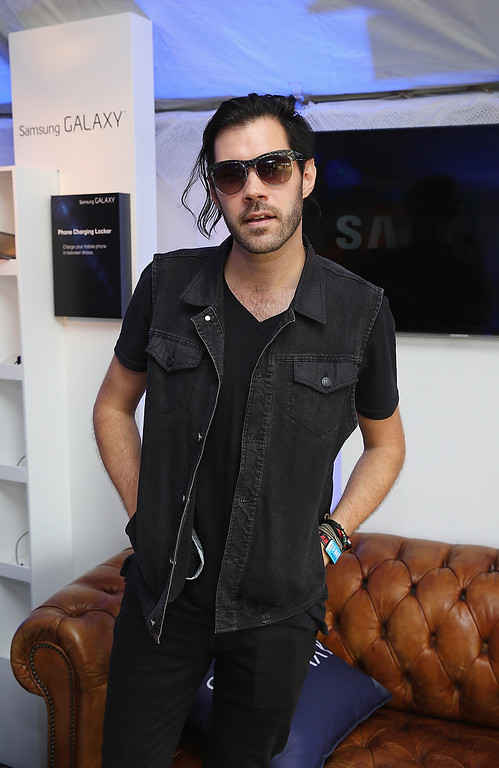 . CHICAGO, IL - AUGUST 02:  Ryan Walker of the band Imagine Dragons attends the Samsung Galaxy Artist Lounge at Lollapalooza  on August 2, 2013 in Chicago City.  (Photo by Neilson Barnard/Getty Images for Samsung Galaxy)