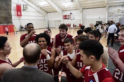 2/25/17: Boys' JV Basketball v Westminster