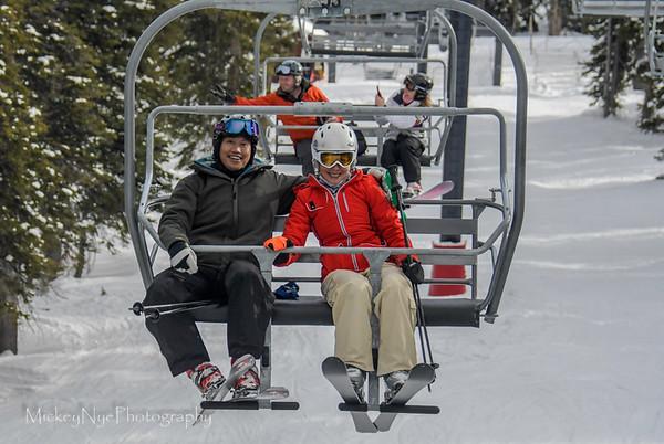 Ski Day 1  plus Arrival Night  01-25-18