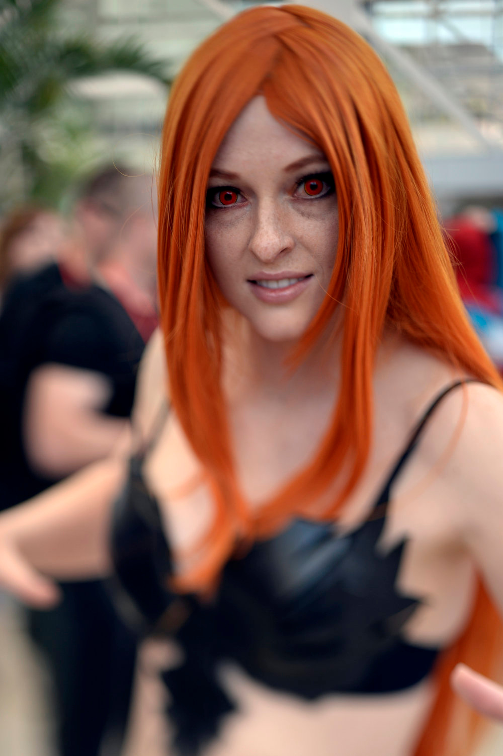 . Tara Piehl 28-years-old poses as Dark Phoenix as she attends the Denver Comic Con June 2, 2013 at the Colorado Convention Center. The Convention brought in more than 45,000 for the three day weekend. (Photo By John Leyba/The Denver Post)