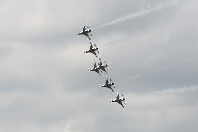 USAF Thunderbirds 2009