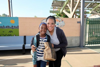Walden Students Celebrate First Day