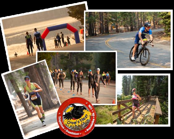 Huntington Lake 'Crow's Nest' Triathlon