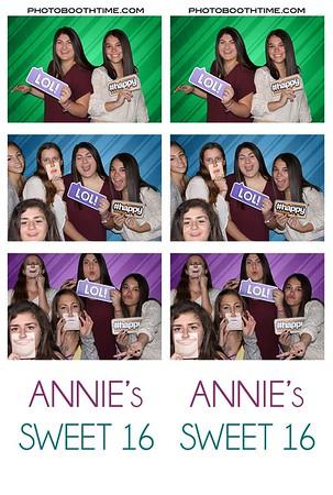 Annie's Sweet 16
