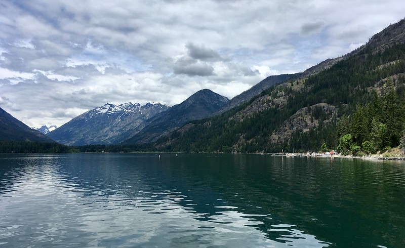 Arriving to Stehekin