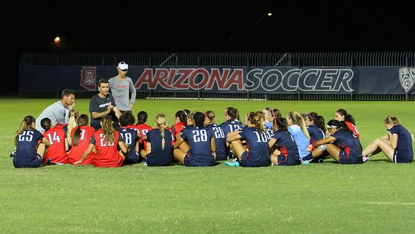 University of Arizona Soccer 2016