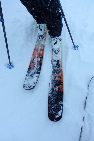 These skis love soft snow. Day 3