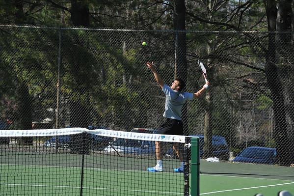 BABSON MEN'S TENNIS  v  AMHERST  TIE-BREAKER  4.21.2013