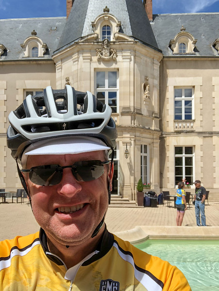 Chas at Château Sainte Sabine