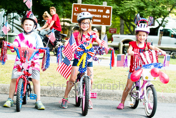 Roan Mountain State Park Bike Parade 7/2/16