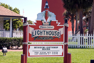 Ponce de Leon Lighthouse, Ponce Inlet, Florida