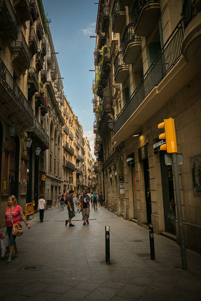 Alley in the Gotic, Barcelona